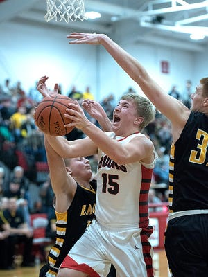 Jacob Shade and Heath Starkey will go from rivals on the court to teammates in the News Journal All-Star Classsic.