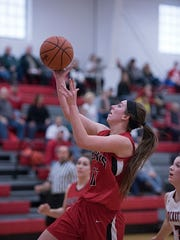 Shaina Orewiler and the Lady Redmen look to start the season with a win on the road.