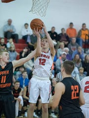 Harley Robinson is one of the key returners on an upperclassmen-heavy Redmen team.
