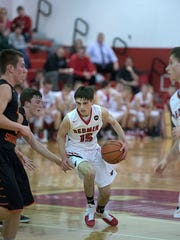 Area leading scorer Ryan Evans and the Redmen will look for their first win this weekend.