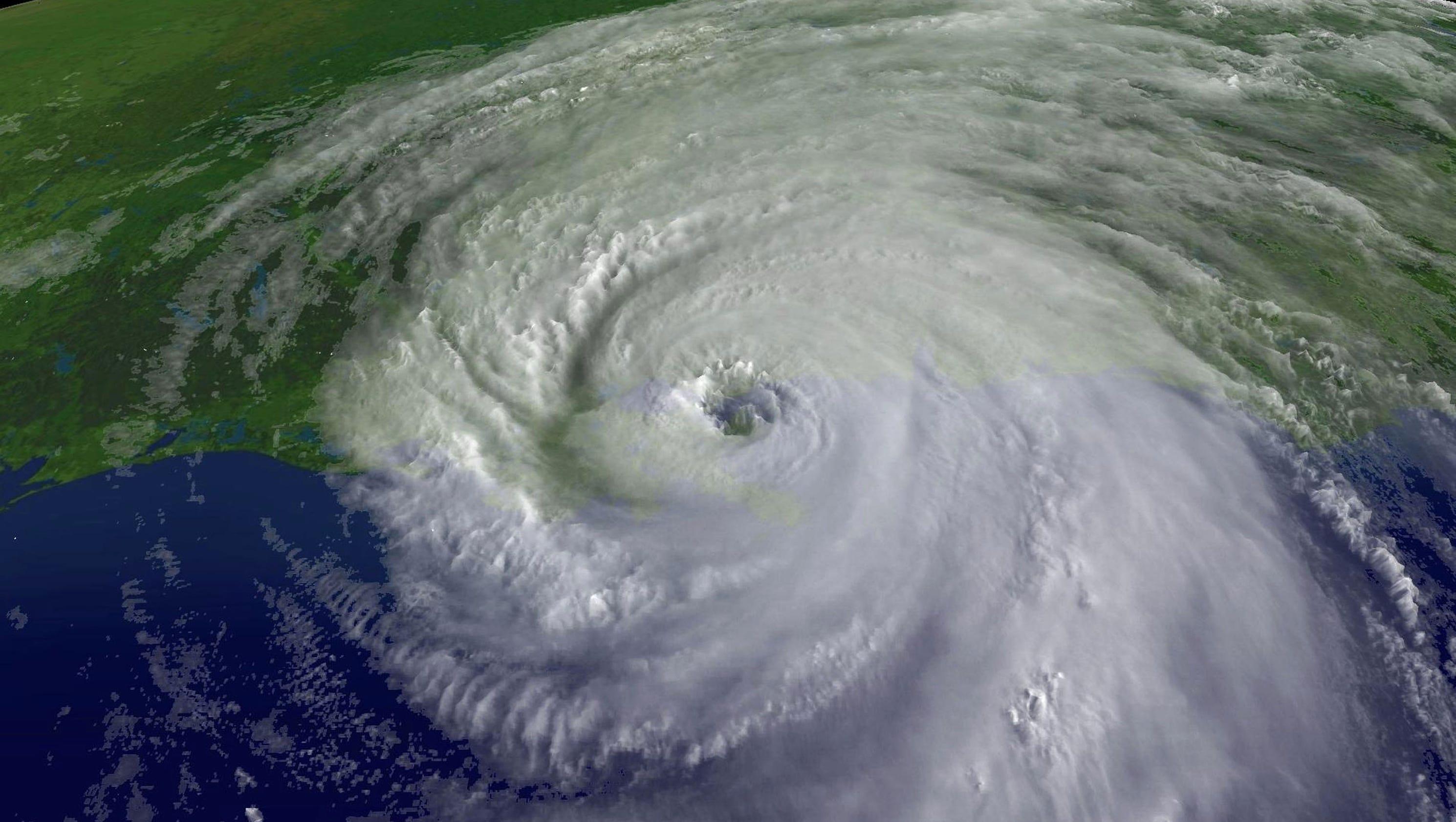 Images of Hurricane Ka...