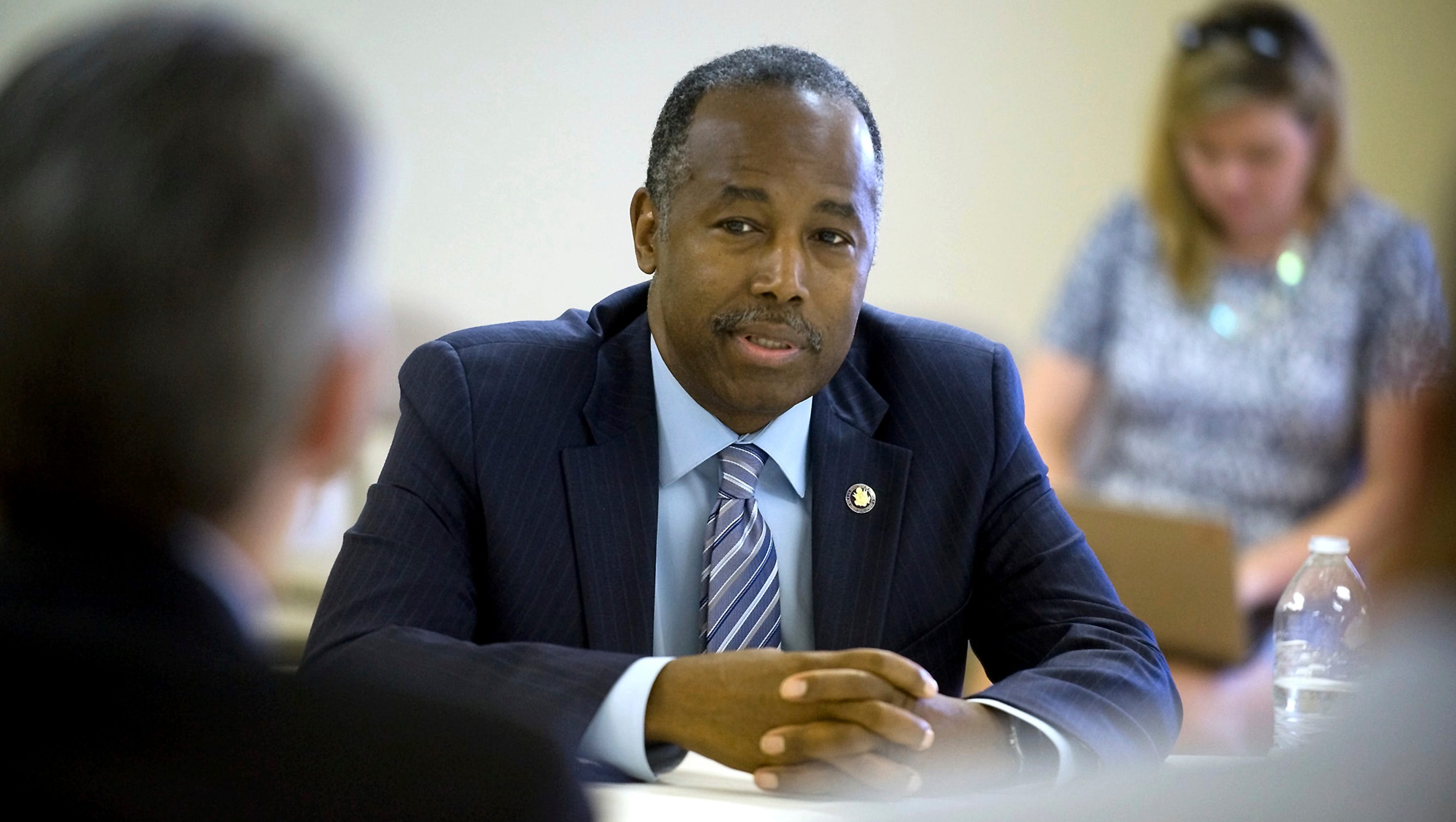 Ben Carson says his home was vandalized with anti Trump message