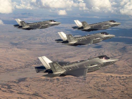 F-35 base finalists
