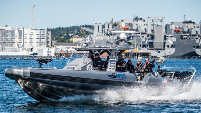 The Multi-Mission Interceptor is among the SAFE Boats models that could be co-produced in Colombia.