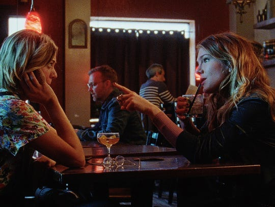 """Analeigh Tipton (left) and Lily Rabe star in """"Golden"""