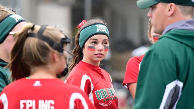 Oak Harbor's Emma Bergman will play at Ohio Dominican next season.
