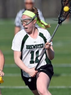 Brewster's Lauren Craft became an all-American in 2017.