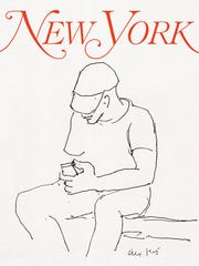 Alex Katz created this cover for the public art project.