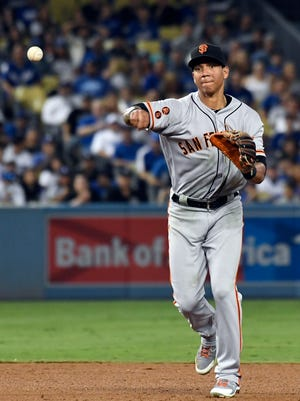 Ehire Adrianza, 27, is a switch-hitting middle infielder who saw time in a utility role for the Giants in recent years.