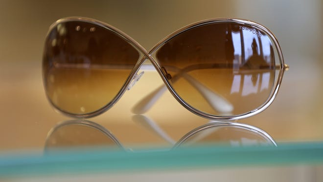 Sunglasses by Tom Ford at Garmany in Red Bank.