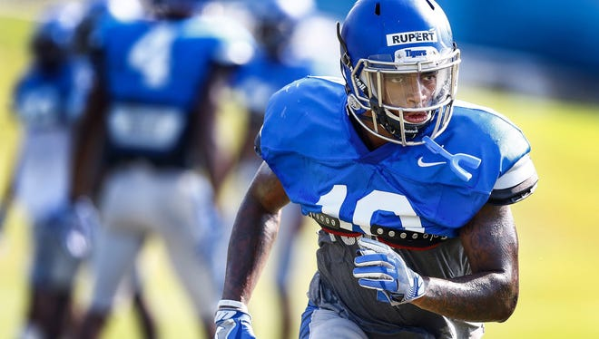 G.W. Carver's Shaun Rupert, after playing in every game last season, is a senior at Memphis.