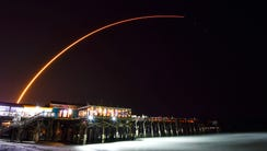 A United Launch Alliance Atlas V rocket launches from