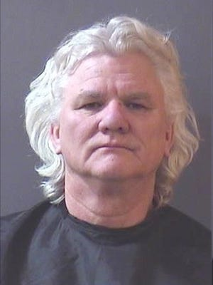 Ritchie Hodges, accused of leaving a cell phone in a Fishers Goodwill. 2018