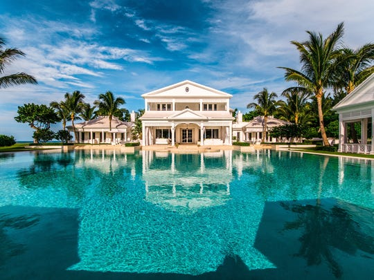 Celine Dion and husband, Rene, are selling their Jupiter, Florida, beach estate and personal water park. Originally priced at $72 million, now listed at $62.5 million.