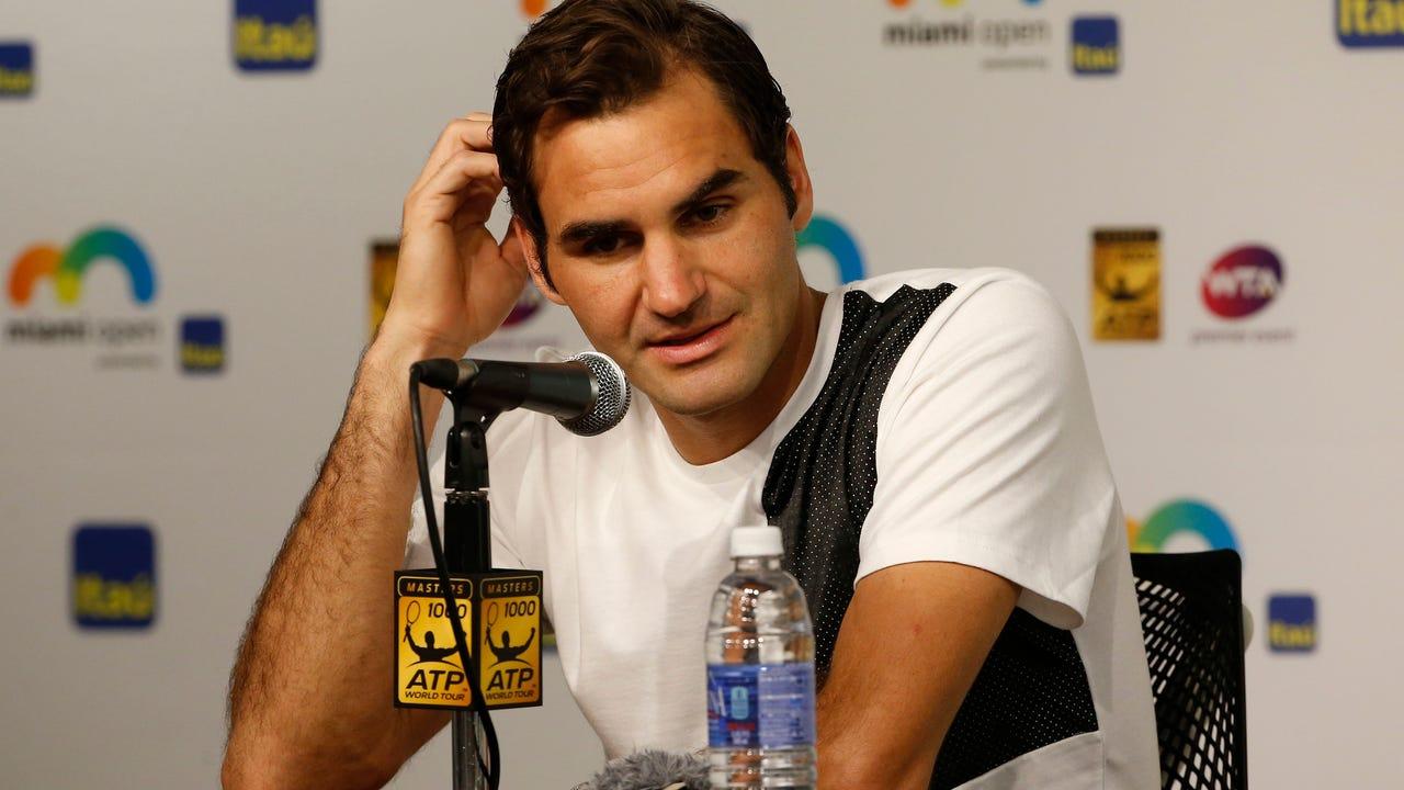 Roger Federer returns from injury for the upcoming Grand Slam.