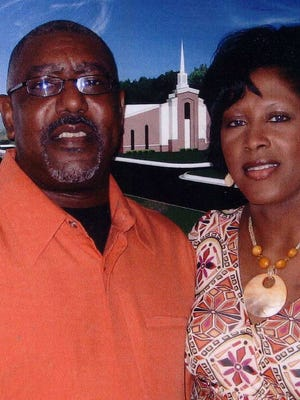 The Rev. Kelvin Langston and his wife, Angela, are shown in this 2008 photo.