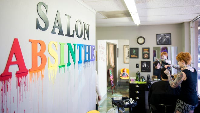 Salon Absinthe, located at 7425 S. Northshore Dr. will no longer base its pricing on gender and now charges based on the client's hair length and complexity of the cut.