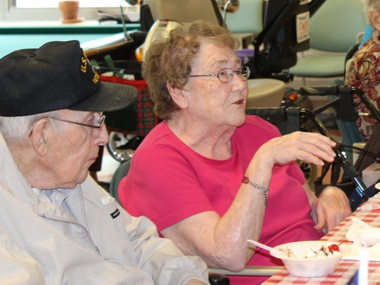 Navy WWII veteran Garth Morgan and his wife Connie share stories of their farm life in rural Wisconsin.