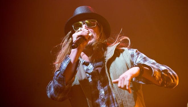 Kid Rock seen performing at the Coors Light Birds Nest in 2015.