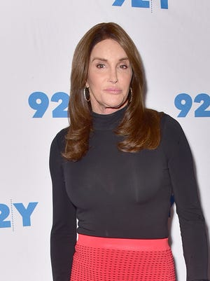 Caitlyn Jenner attended an event at the 92nd Street Y on April 25.