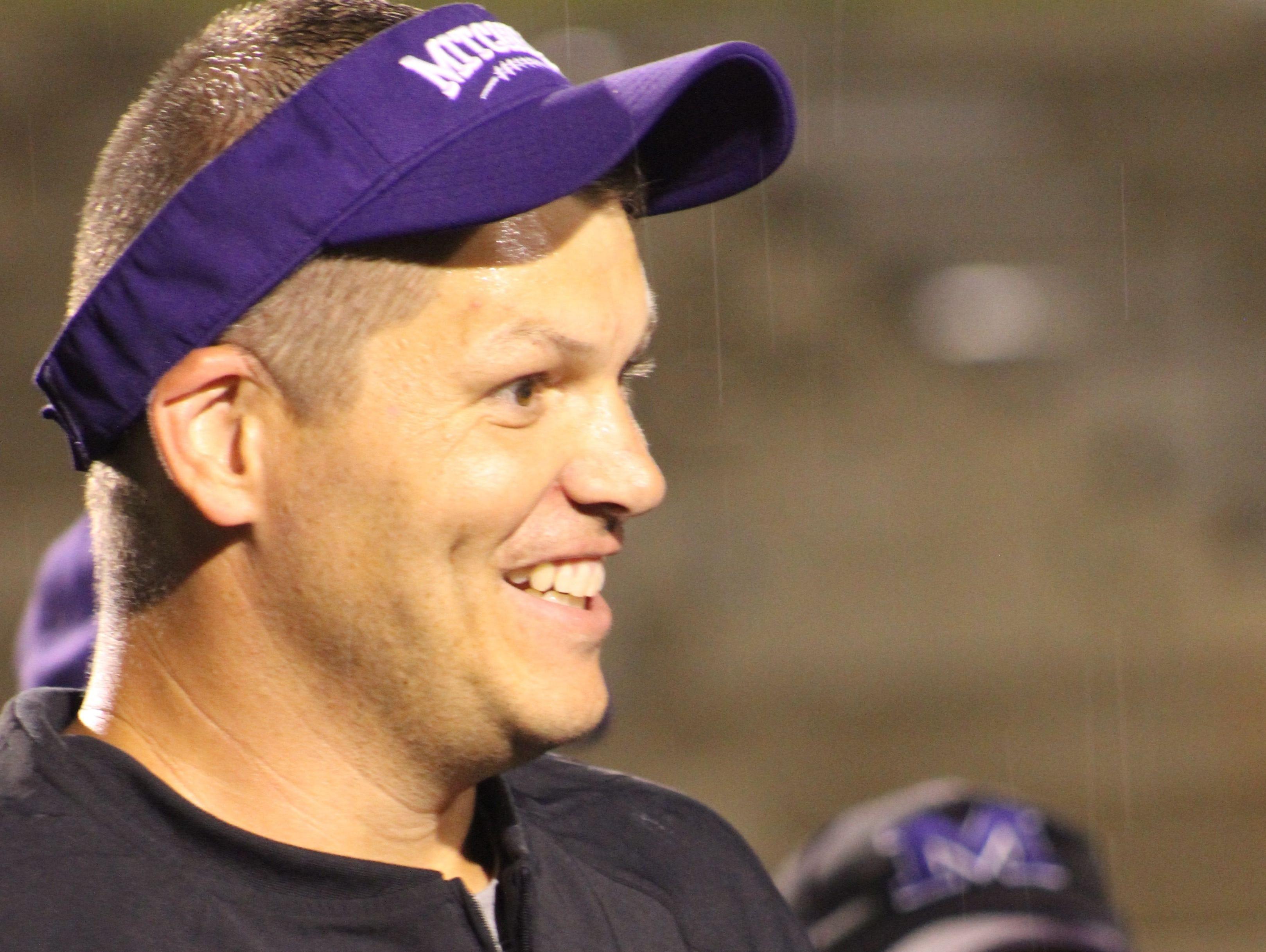 Travise Pitman won eight games in his first season as Mitchell's football coach.