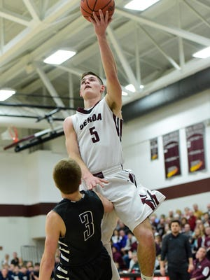 Genoa sophomore Jacob Plantz earned first-team status in the NBC.