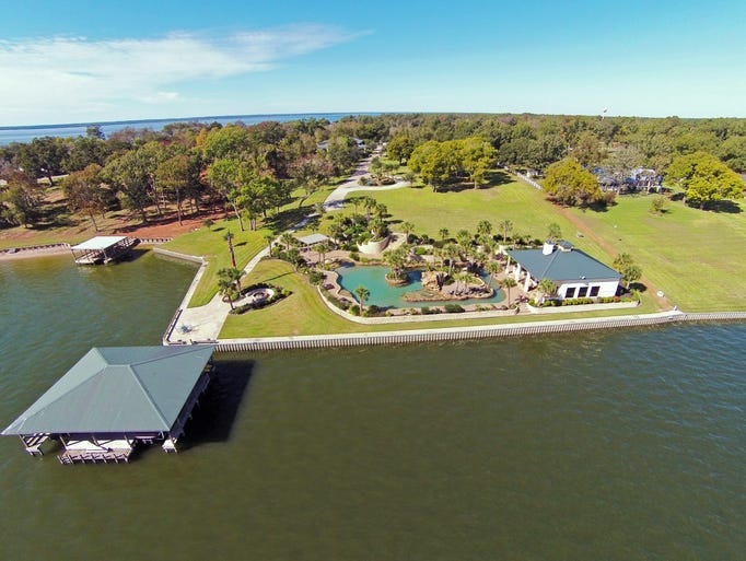 for sale lakefront property with texas sized pool 39 man cave 39