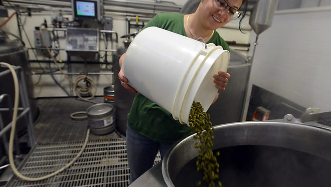 Linsey Cornish took over brewing operations at Three Four Beer Co. last summer.