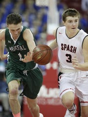 SPASH senior guard/forward Drew Blair, who signed with Division II Northwest Missouri State in November, is averaging 34.5 points a game for the three-time defending Division 1 state champion Panthers.