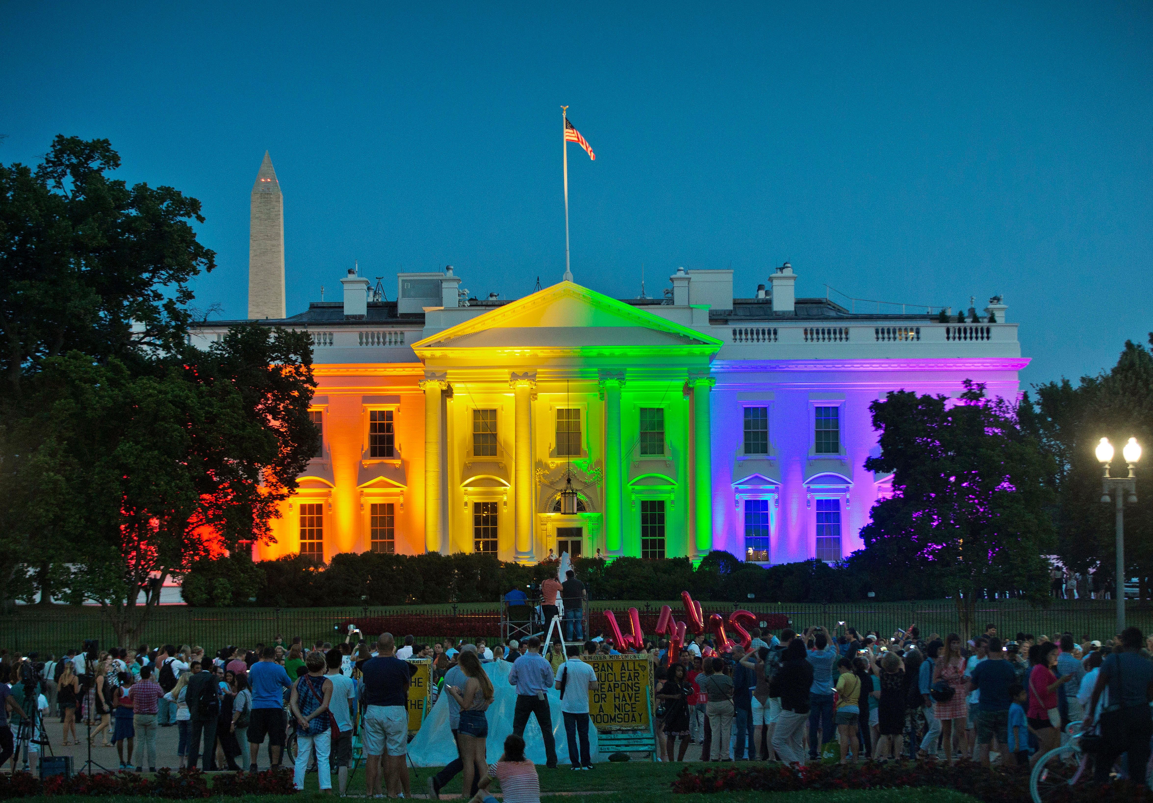 First things homosexual marriage legal states