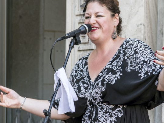 Jazz singer and songwriter Kerensa Gray will perform at Greencastle's First Friday on Aug. 7.