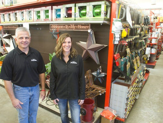 New owner Peter Grebeck and manager Kendall Beck will