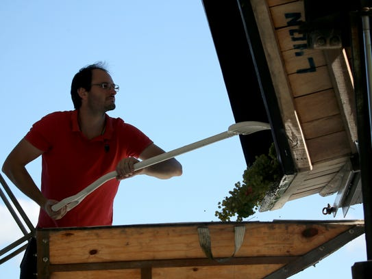 Sebastien LeSeurre works with grape growers at Toro