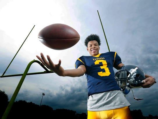 Alton Jones Jr., football running back at Spencerport.