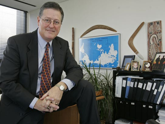Jonathan Wilson in his office in 2006.