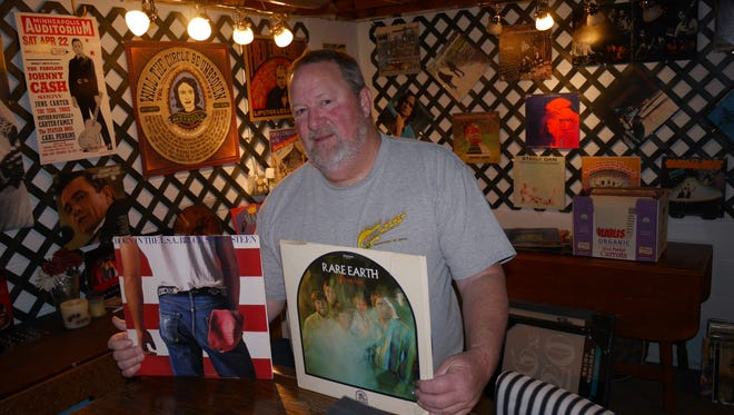 Charles Troutman of Staunton is collecting records to sell and raise money for the Maddee Project and the local radio station. The sale will be 23rd in Staunton.