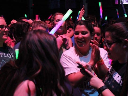 Participants dance, participant in activities and raise