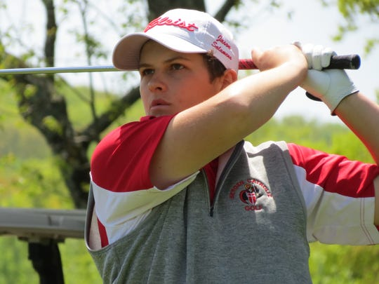 Bergen Catholic senior Jason Salameno was runner-up at the Big North Conference Bergen Bracket at Rockleigh Golf Course on Friday, May 11.