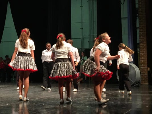 Clogging takes center stage at Staunton competition