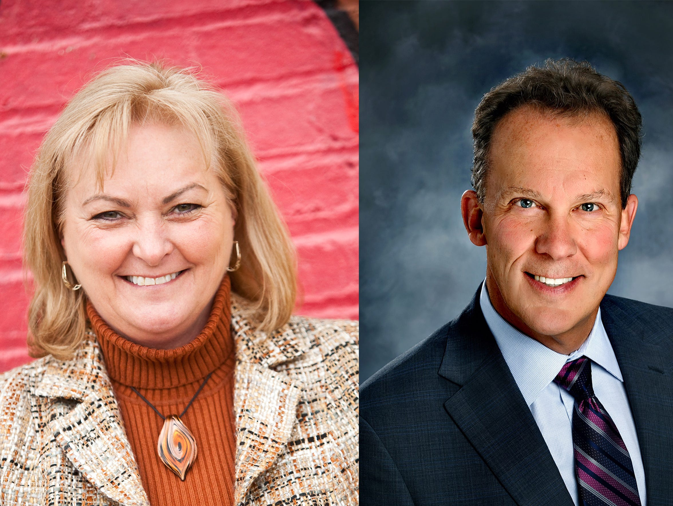 Helen Gunther and Dr. Tom Prater are running for City