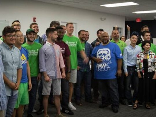 Each team during Startup Weekend created a working