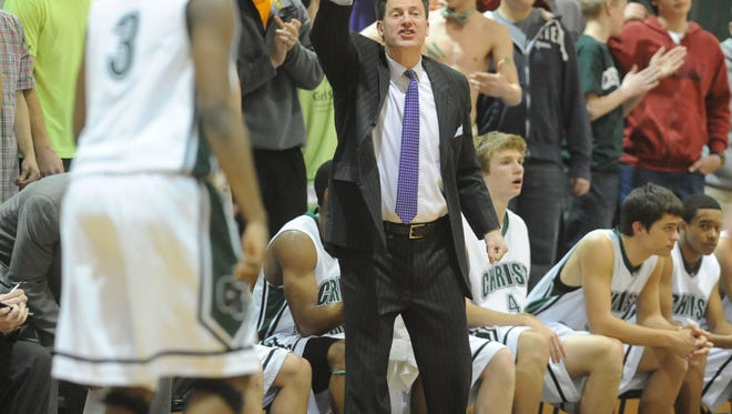 David Gaines led the Christ School basketball and golf teams to nine state championships.