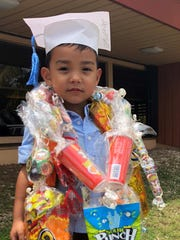 Congratulations to Connor Jace C. Munoz on his Prekindergarten promotion held May 18 at Marcial A. Sablan Elementary School.