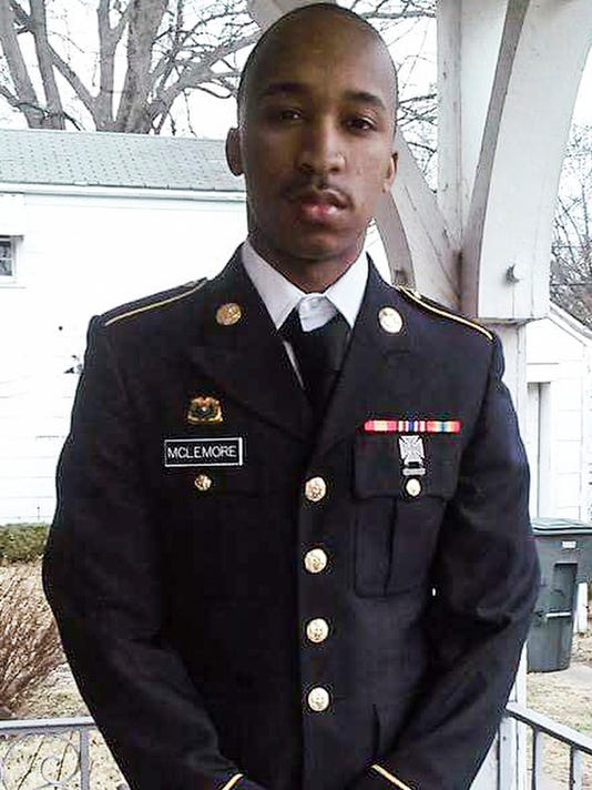 Army Reserve Specialist Cayln McLemore