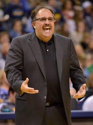 Detroit Pistons head coach Stan Van Gundy.