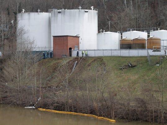 AP CORRECTION Chemical Spill West Virginia