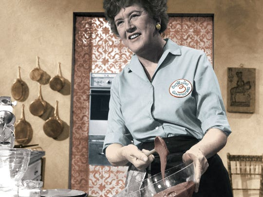 Julia Child is credited with introducing French cooking