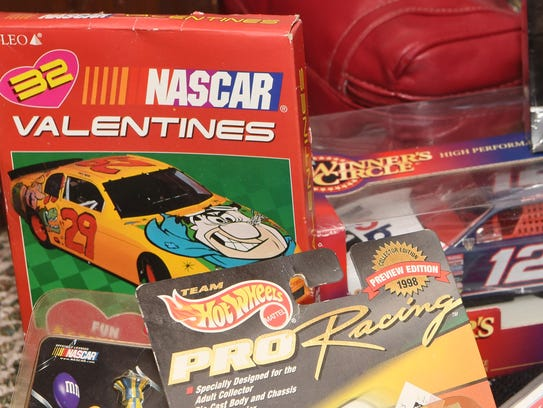 Donna Brunow's NASCAR memorabilia collection includes