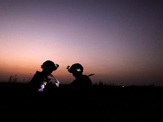 AP APTOPIX MIDEAST IRAQ US TROOPS I IRQ