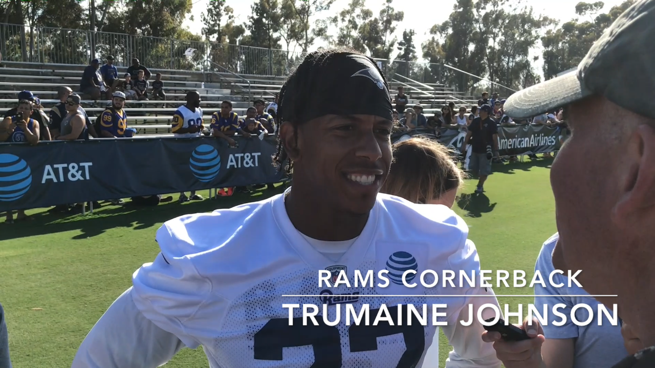 Trumaine Johnson hints this is last year with Rams